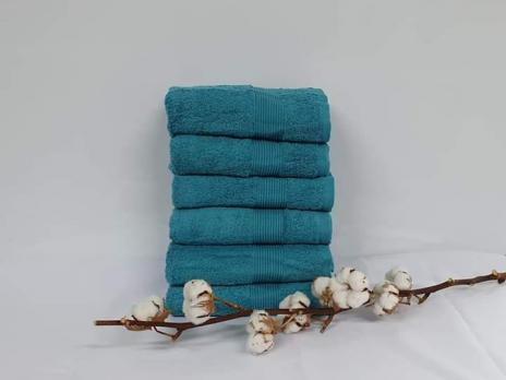 Полотенце Cottonize 50х90 однотонное 912 Бирюза