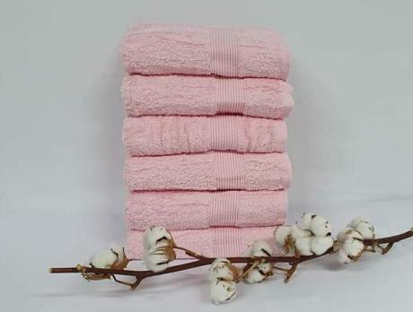 Полотенце Cottonize 50х90 однотонное 912 Розовий