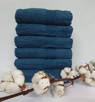 Полотенце Cottonize 50х90 однотонное 912 Темно-синий
