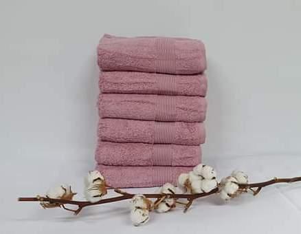 Полотенце Cottonize 50х90 однотонное 912 Грязна-роза
