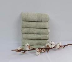 Полотенце Cottonize 100х150 однотонное 912 Оливковий