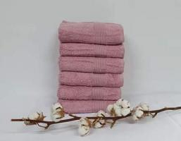 Полотенце Cottonize 100х150 однотонное 912 Грязна-роза