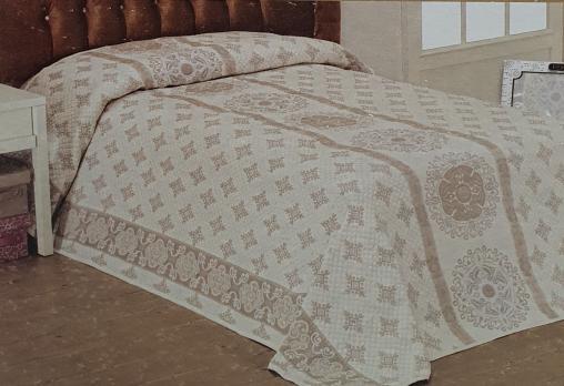 Покрывало My Bed Жакард 170x240 Модель 7 Grey Milky