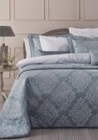 Покрывало с наволочками и подушками Pepper Home элитное 270*260 Athena Blue