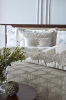 Покрывало с наволочками и подушкой Pepper Home элитное 270*260 Marbella Beige