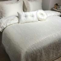 Покрывало с наволочками и подушками Pepper Home элитное 270*260 Eliza Cream