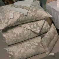 Покрывало с наволочками и подушками Pepper Home элитное 270*260 Flora Grey