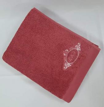 Полотенце L&I 70x140 Бордовый
