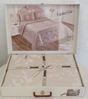Покрывало My Bed Жакард 240x260 с наволочками Vanessa Gri