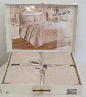 Покрывало My Bed Жакард 240x260 с наволочками Fiorella Kahve