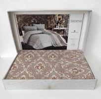 Покрывало My Bed Жакард 240x260 с наволочками Sedens Powder