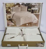 Покривало My Bed вафельні 240x260 з наволочками Cotton White