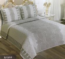 Покрывало My Bed Жакард 170x240 с наволочкой Ariana Kahve