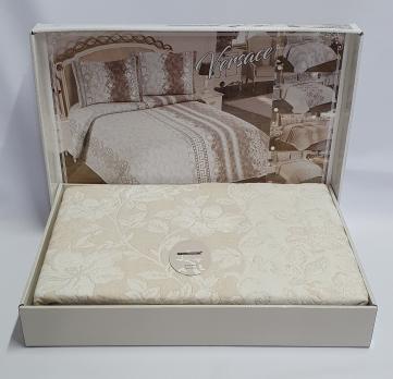 Покрывало My Bed Жакард 170x240 с наволочкой Perlla Bej