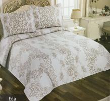 Покривало My Bed Жакард 170x240 з наволочкою Eda Kahve