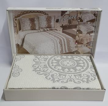 Покрывало My Bed Жакард 240x260 с наволочками Onella Grey