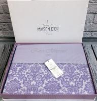 Постельное белье Maison D'or сатин 200х220 Rose Marine Lila
