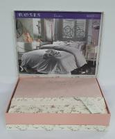 Постельное белье Maison D'or сатин 200х220 Roses Rose Color