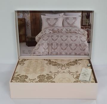 Постельное белье Maison D'or сатин 200х220 Desire Beige