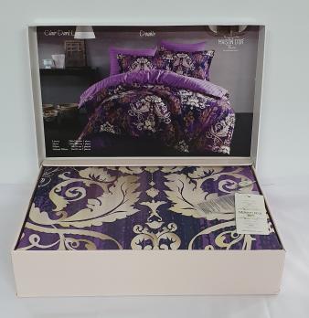 Постельное белье Maison D'or сатин 200х220 Clair Dark Lilac