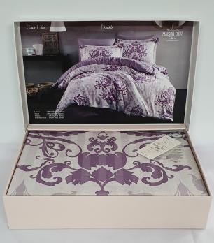 Постельное белье Maison D'or сатин 200х220 Clair Lilac