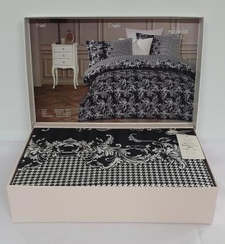 Постельное белье Maison D'or сатин 200х220 Black