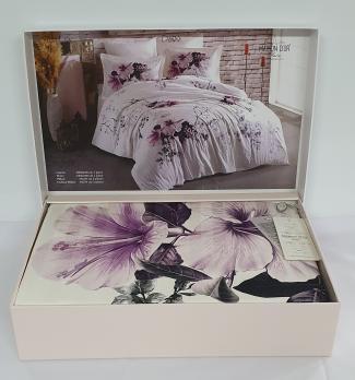 Постельное белье Maison D'or сатин 200х220 Alita Lilac