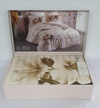 Постельное белье Maison D'or сатин 200х220 Alita Leight Beige