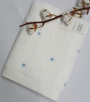 Полотенце Maison D'or Love 85x150 White/Blue