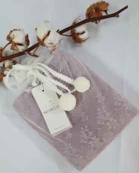 Полотенце Maison D'or Sesa 85x150 Dark Lilac