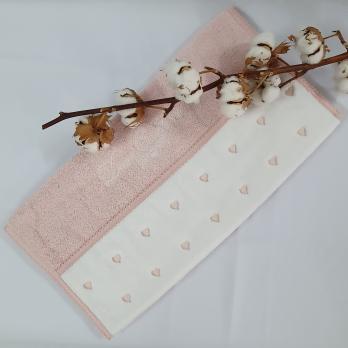 Полотенце Maison D'or Lavoine Hearts 50x100 Rose
