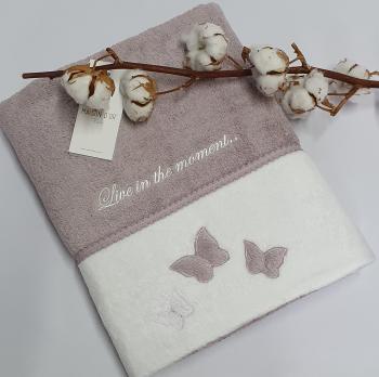 Полотенце Maison D'or Monique Butterfly 50x100 Fiolet