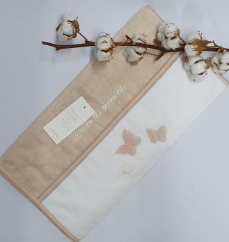 Полотенце Maison D'or Monique Butterfly 50x100 Ten Pudra