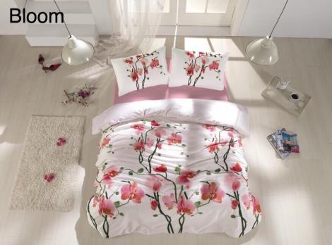 Постельное белье Altinbasak ранфорс 200x220 Bloom