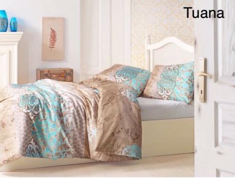 Постельное белье Altinbasak ранфорс 200x220 Tuana