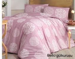 Постельное белье Altinbasak ранфорс 200x220 Bello Gulkurusu