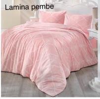 Постельное белье Altinbasak ранфорс 200x220 Lamina Pembe
