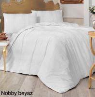 Постельное белье Altinbasak ранфорс 200x220 Nobby Beyaz