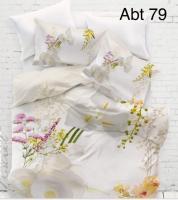 Постельное белье Altinbasak 3D сатин 200x220 Abt 79