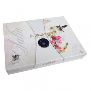Постельное белье Altinbasak 3D сатин 200x220 Abt 77
