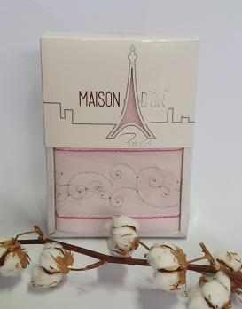 Полотенца Maison D'or 1шт Dalliy 50*100 Розовый