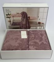 Полотенца Maison D'or 2шт Sanda Фиолетовый