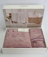 Полотенца Maison D'or 3шт Candy Love Lilac