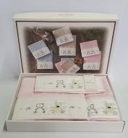 Рушники дитячі Maison D'or 3шт Lamite Pink