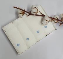 Полотенца Maison D'or 4шт Micro Love Set Blue