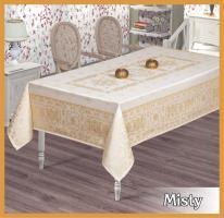 Скатертина тефлон Maison Royale 160*220 Misty Cream