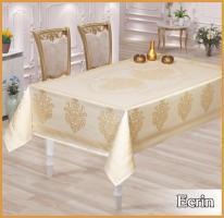 Скатертина тефлон Maison Royale 160*220 Ecrin White