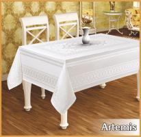 Скатертина тефлон Maison Royale 160*220 Artemis Cream