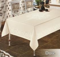 Скатертина тефлон Maison Royale 160*300 Dore Cream