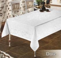 Скатертина тефлон Maison Royale 160*350 Dore White